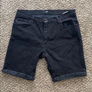 Vans rolled/cutoff shorts